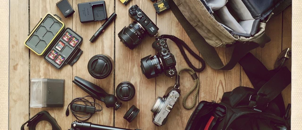 Fotoausrüstung auf Reisen, Lüttefreiheit