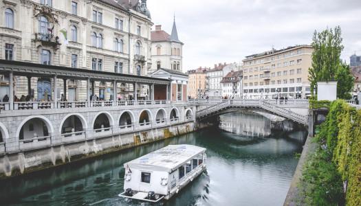 Ljubljana/ Laibach in Slowenien