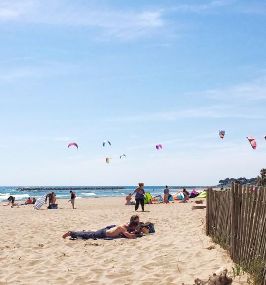 Kiten wie Gott in Frankreich - Saint Aygulf - lütte Freiheit auf Achse