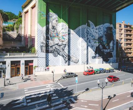Bilbao - lütte Freiheit auf Achse