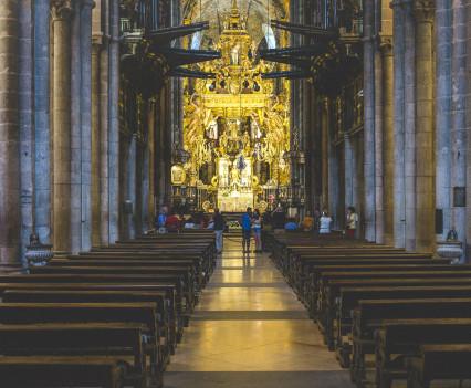Santiago de Compostela - lütte Freiheit auf Achse